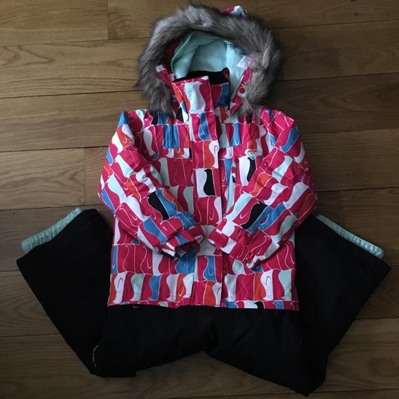 dc82a924060 Roxy Paradise Girls/infant Penguin Snow Suit